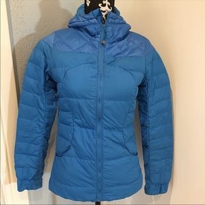 "Lululemon ""Fluffing Awesome"" Down Puffer Size 2"